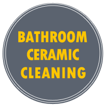 bathroom ceramic cleaning