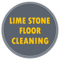 lime stone cleaning back